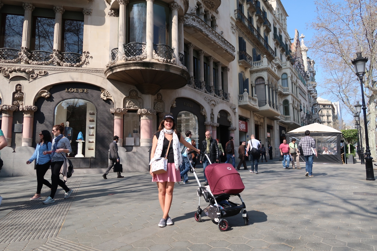 Travel Video: Barcelona with a baby